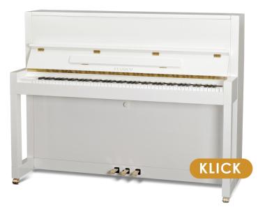 Feurich Klavier Premiere Weiß