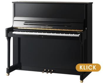 Wilh. Steinberg klavier S 130 Schwarz