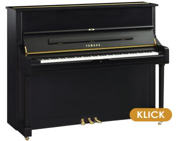 Yamaha Klavier U1 Schwarz