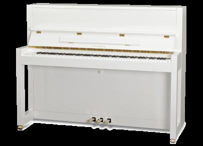 Klavier Feurich 115 Weiß