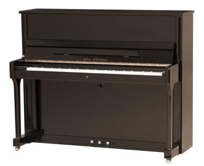 Wilh. Steinberg Klavier P 121 Schwarz