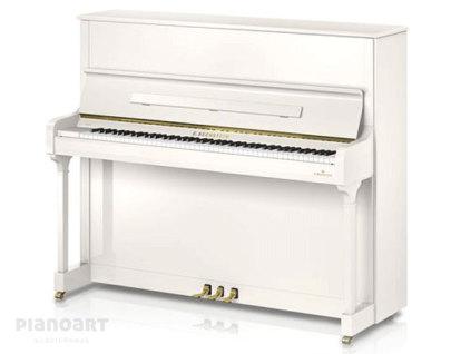 Klavier C. Bechstein Academy 124 Style Weiß