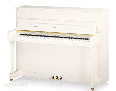 C.Bechstein Klavier Contur 118 Weiß